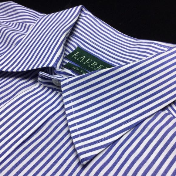 7de5a917 Lauren Ralph Lauren Shirts   572 Lauren Ralph Blue Bengal Stripe ...